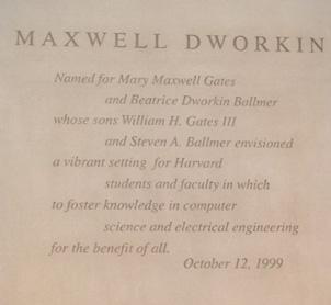 Maxwell-Dworkin